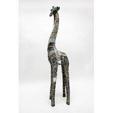 Mosaic Animal Giraffe Statue