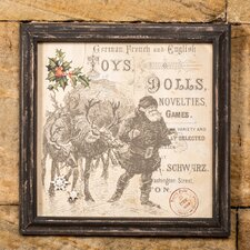 Toys and Dolls Magnetic Board Framed Graphic Art