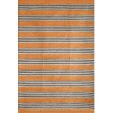 Sonoma Tangerine Striped Area Rug