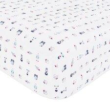 Galaxy Fitted Crib Sheet