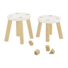 Kaleidoscape Stool (Set of 2)
