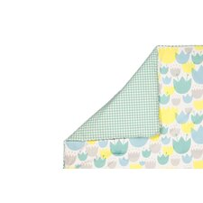 Tulip Garden 2 in 1 Play & Toddler Blanket