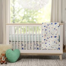 Fleeting Flora 4 Piece Crib Bedding Set