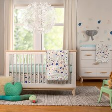 Fleeting Flora 6 Piece Crib Bedding Set