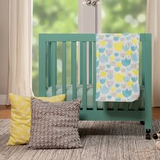 Tulip Garden 4 Piece Crib Bedding Set