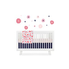 In Bloom 4 Piece Crib Bedding Set