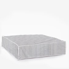 Sweater Stripe Square Dog Bed