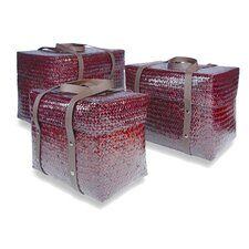 Kulit Square Basket 3 Piece Set