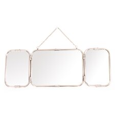 Treble Retro-Chic Three Panel Mirror