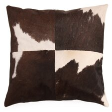 Vache Cow Hide Throw Pillow