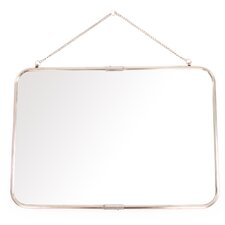 Bima Rectangular Wall Mirror with Hanging Chain