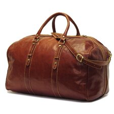 "Venezia 22"" Leather Travel Duffel"