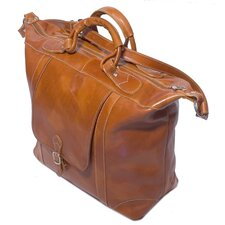 "Tack 16"" Leather Travel Duffel"