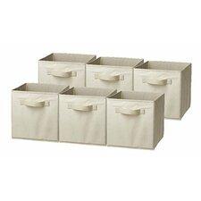 Sorbus Cube Storage Bin (Set of 6)