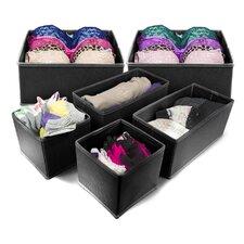 Sorbus® 6 Piece Storage Box Set