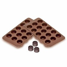 Sorbus Round Silicone Mold for Chocolate and Jelly Candy