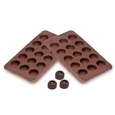 Sorbus® Square Indented Silicone Mold for Chocolate and Jelly Candy