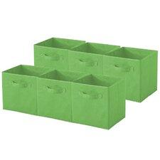 Sorbus Collapsible Foldable Storage Cube Basket Bin (Set of 6)