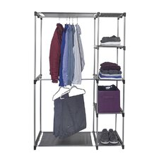 "Sorbus® 65.5"" H x 42.5"" W x 18"" D Garment Rack"