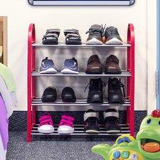 Sorbus® Kid's Junior 4-Tier Shoe Rack