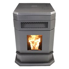 Hopper Pellet stove
