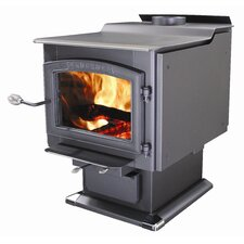 Ponderosa 3,200 Square Foot Wood Stove with Blower