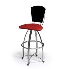 "Kirpa 24"" Swivel Bar Stool with Cushion"
