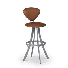 "Prim 24"" Swivel Bar Stool with Cushion"