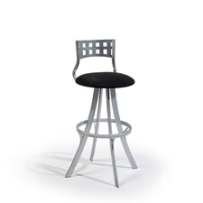 "Leo 24"" Swivel Bar Stool with Cushion"