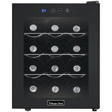 12 Bottle Single Zone Wine Refrigerator