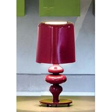 "Eva Small 11.1"" H Table Lamp with Drum Shade"