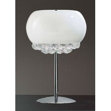 "Mir 17.7"" H Table Lamp with Globe Shade"