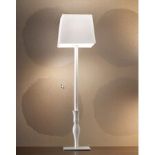 "Slim Tall 23.7"" H Table Lamp with Square Shade"