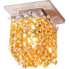 Aurea 1 Light Cube Flush Mount