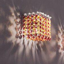 Aurea 1 Light Cube Wall Sconce