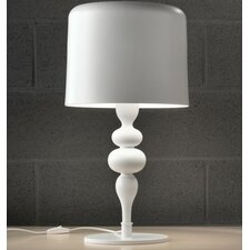 "Eva 21"" H Table Lamp with Drum Shade"