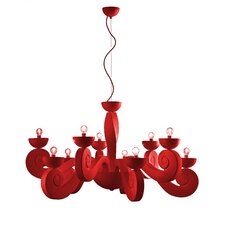 Botero 10 Light Chandelier