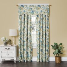 English Floral Window Valance
