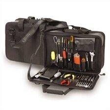 680 Large Capacity Triple Section Zipper Case