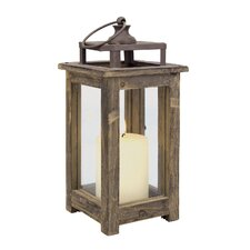 Rustic Retreat Wood Lantern