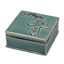 Accents of Faith Hope Trinket Box (Set of 4)