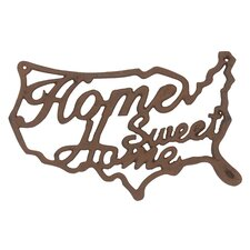 Stonebriar Home Sweet Home Wall Decor