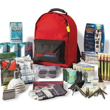 Grab N' Go Deluxe Emergency Backpack Kit, 4 Person