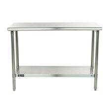 EcoStorage Height Adjustable Stainless Steel Top Workbench