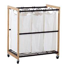 EcoStorage™ 3 Bag Laundry Cart