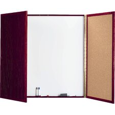 Cabinet Enclosed Whiteboard