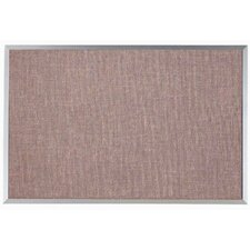Designer Fabric Wall Mounted Bulletin Board, 2' H x 3' W
