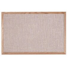Designer Fabric Quartz Wall Mounted Bulletin Board