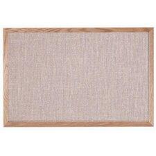 Designer Fabric Quartz Wall Mounted Bulletin Board