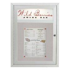 Aluminum Frame Enclosed Bulletin Board